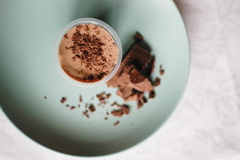 Recette de mousse au chocolat: notre version ultra légère sans œufs