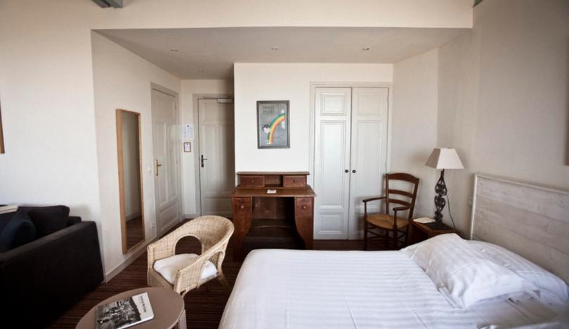 Hôtel Flaubert: la pension avec vue mer à Trouville
