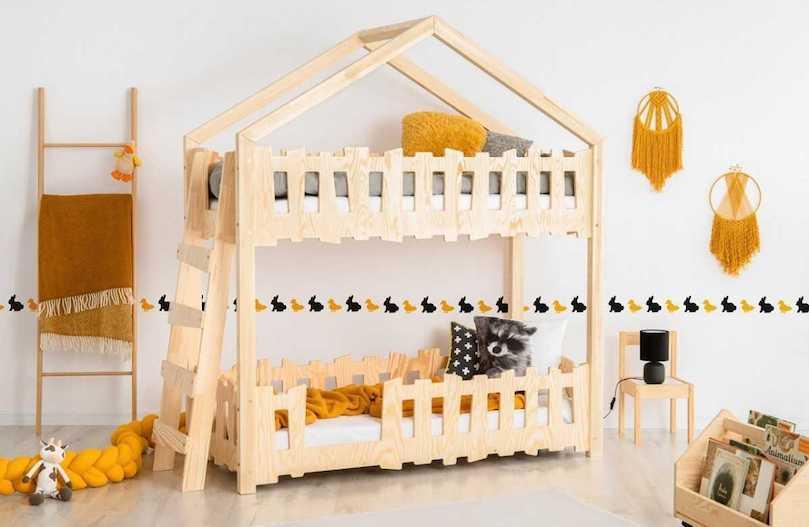 Lit cabane, lit tipi, lit mezzanine: nos modèles favoris pour une chambre d'enfant