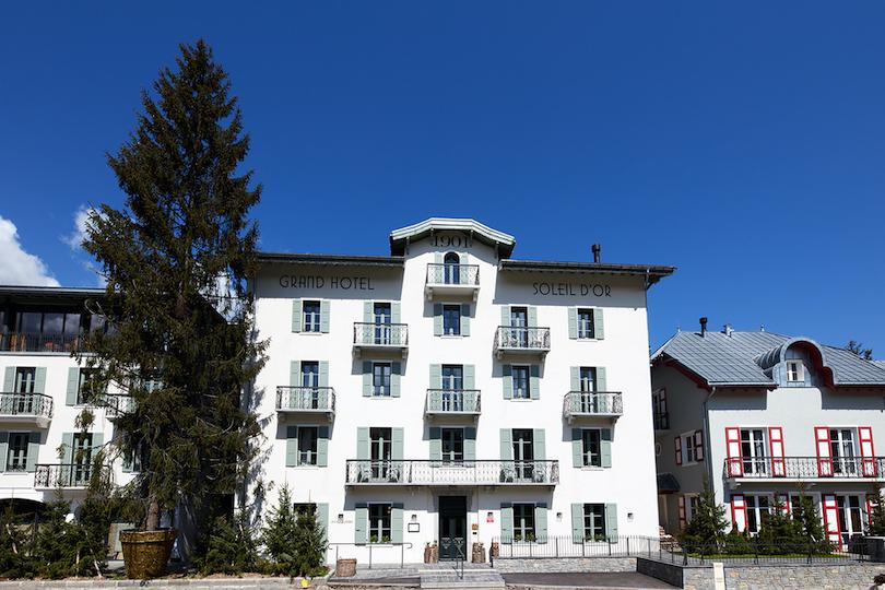 Grand Hôtel du Soleil d'Or: l'été autrement à Megève